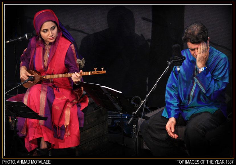 عکس همسر محمدرضا شجریان